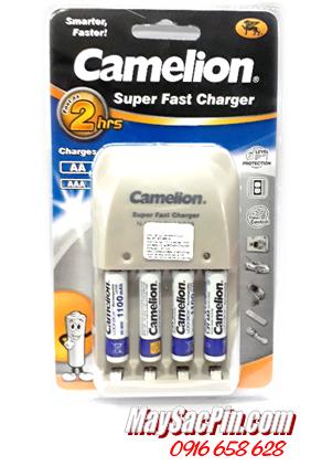 BC-0905A, Bộ sạc pin AA Camelion BC-0905A kèm 4 pin sạc AAA1100mAh Lockbox
