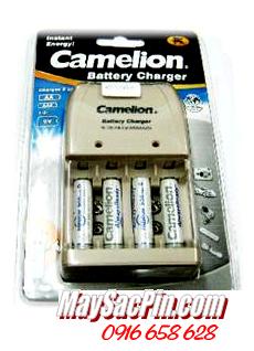 BC-0904SM, Bộ sạc pin AAA Camelion BC-0904SM kèm 4 pin AAA900mAh LOckbox