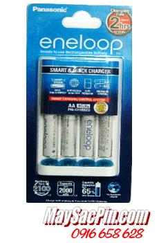 Máy sạc pin Panasonic Eneloop kèm sẳn 4 pin sạc Eneloop AAA750mAh / TẠM HẾT HÀNG