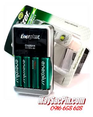 Bộ sạc pin Energizer CHCC-EU kèm sẳn 4 pin sạc EnerPlus AA2700mAh 1.2v   HẾT HÀNG