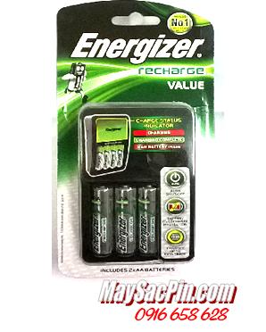 Bộ sạc pin Energizer CHVC4M kèm sẳn 4 pin sạc Energizer AA2300mAh 1.2v    TẠM HẾT HÀNG