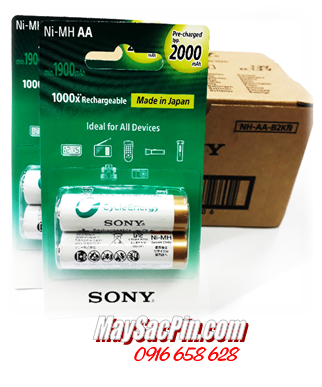 Sony NH-AA2000-B2KN, Pin sạc AA2000mAh 1.2v Sony NH-AA2000-B2KN Made in Japan |HẾT HÀNG