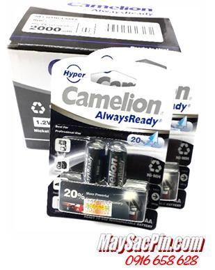 Camelion NH-AA2000HPBP2, Pin sạc AA2000mAh 1.2v Camelion NH-AA2000HPBP2 chính hãng Made in China