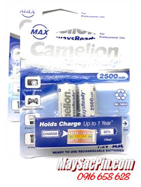 Camelion NH-AA2500ARBP2, Pin sạc AA2500mAh 1.2v Camelion NH-AA2500ARBP2 chính hãng Made in China