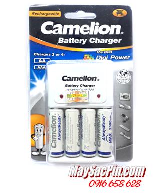 BC-1010, Bộ sạc pin Camelion BC-1010 kèm 4 pin sạc Camelion AA2500mAh