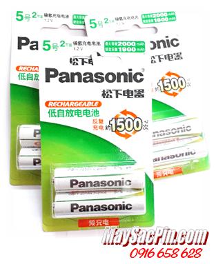 Panasonic Evolta HHR-3MRC, Pin sạc AA 1.2v Panasonic Evolta HHR-3MRC, AA2000mAh -1.2v