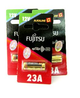 Fujitsu A23, Pin 12v Remote Fujitsu A23 alkaline Made in Indonesia