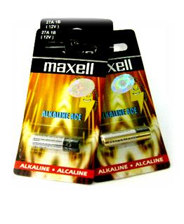 Maxell A27, Pin 12v remote cửa Maxell A27 chính hãng Made in China