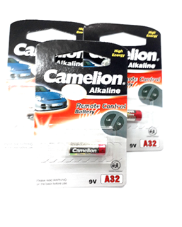 Camelion A32, Pin Remote cửa 9v Camelion A32 Plus Alkaline ( Vỉ 1 viên)
