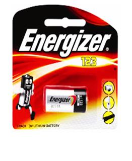 Energizer CR123A, Pin 3v lithium Energizer CR123A chính hãng Made in China