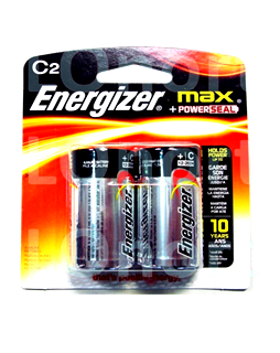 Energizer E93-BP2; Pin Energizer E93-BP2 trung C Alkaline 1.5v