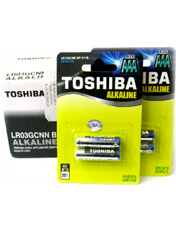 Toshiba LR03GCNN BP2; Pin AAA 1.5v Toshiba LR03GCNN BP2