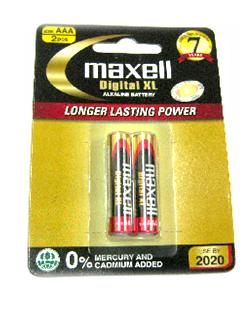 Maxell LR03(XL)2B, Pin AAA 1.5V Alkaline Maxell LR03(XL)2B -Indonesia