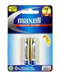 Maxell LR6(2B)GD, Pin AA 1.5V Alkaline Maxell LR6(2B)GD Made in Indonesia