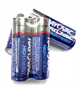 Rayovac LR6, Pin AA 1.5v Rayovac LR6 Alkaline Made in INdonesia