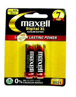 Maxell LR6XL, Pin tiểu AA 1.5v alkaline Maxell LR6XL Made in INdonesia