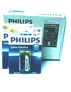 Sony LR6/AM3; Pin AA 1.5v Alkaline Philips Ultra Sony LR6/AM3