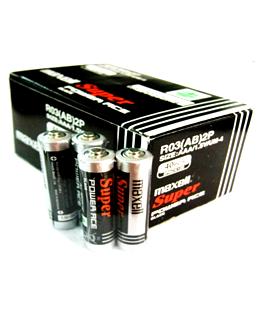 Maxell R03P(AR), Pin AAA 1.5V Maxell Super Power ACE R03P(AR)