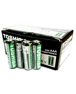 Toshiba R03UG BP-2TGTE V; Pin AAA 1.5v Toshiba R03UG BP-2TGTE V