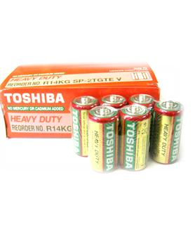 Toshiba R14KG, Pin trung C 1.5v Heavy Duty Toshiba R14KG (Vỉ 2 viên)