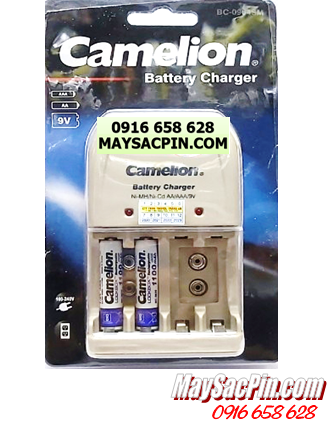 Bộ sạc pin AAA Camelion BC-0904SM kèm sẳn 2 pin sạc Camelion AAA1100mAh 1.2v Lockbox |CÒN HÀNG