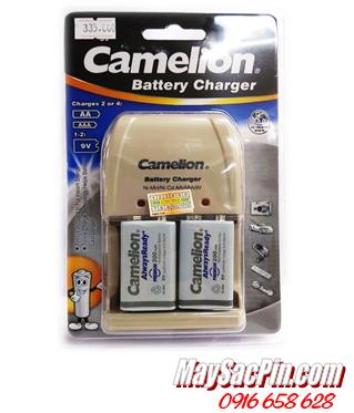 Bộ sạc pin Camelion BC-0904SM kèm 2 pin sạc 9V200mAh AlwaysReady| CÒN HÀNG