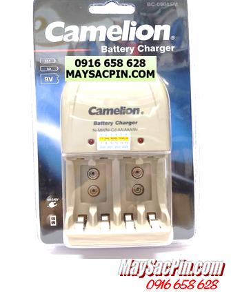 BC-0904SM, Máy sạc pin AA-AAA-9V Camelion BC-0904SM chính hãng ( không kèm pin)