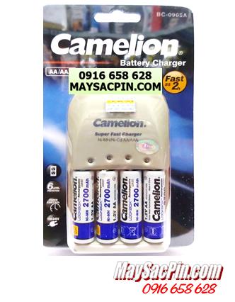 BC-0905A (4NH-AA2700LBP2), Bộ sạc pin AA Camelion BC-0905A kèm 4 pin AA2700mAh Lockbox