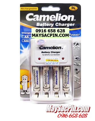 BC-1010, Bộ sạc pin AAA Camelion BC-1010 kèm 4 pin sạc AAA900mAh AlwaysReady