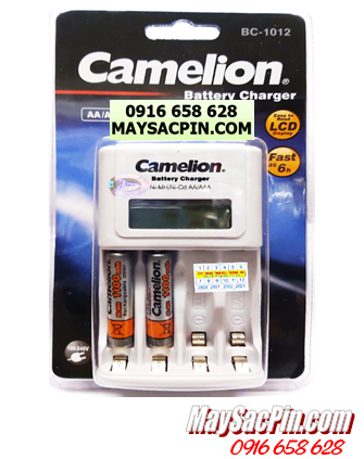 Bộ sạc pin AAA Camelion BC-1012(2NH-AAA1100BP2), kèm 2 pin sạc Camelion NH-AAA1100BP2 (AAA1100mAh 1.2v)