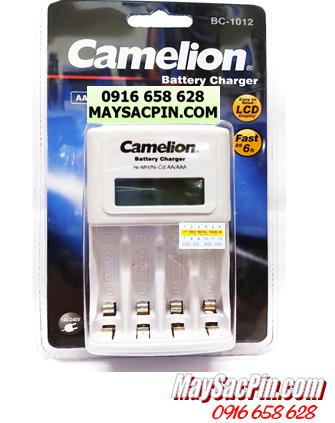 BC-1012, Máy sạc Camelion BC-1012 có màn hình LCD chính hãng (Không kèm pin)