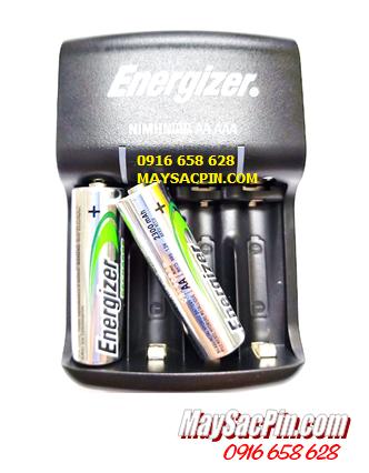 Bộ sạc pin AA Energizer CHVC4 (2AA2300mAh), kèm sẳn 2 pin sạc Energizer AA2300mAh 1.2v