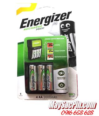 Energizer CHVCM4, Bộ sạc pin AA Energizer CHVCM4-kèm 4 pin sạc Energizer AA2000mAh 1.2v
