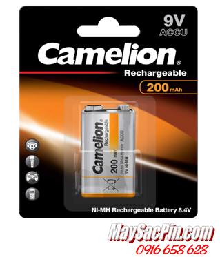 Camelion NH-9V200BP1, Pin sạc 9v vuông Camelion NH-9V200BP1 chính hãng _Vỉ 1viên