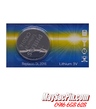 Philips CR2016 _Pin 3v lithium Philips CR2016 chính hãng