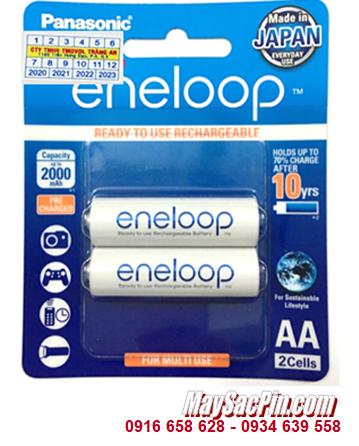 Pin sạc AA1900mAh 1.2v Panasonic Eneloop BK-3MCCE/2B (vỈ 2 viên) | CÒN HÀNG