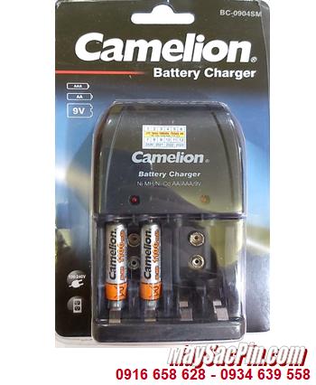Camelion BC-0904SM _Bộ sạc pin BC-0904SM kèm 2 pin Camelion NH-AAA1100BP2 (AAA1100mAh)