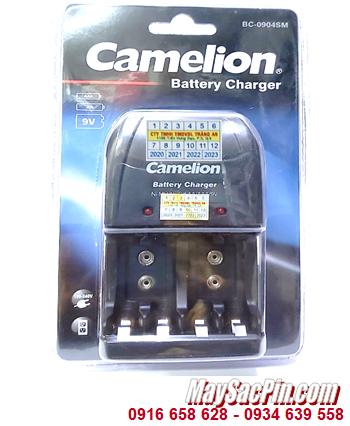 Camelion BC-0904SM; Máy sạc pin Camelion BC-0904SM _ 04 khe sạc _Sạc được 2-4 Pin AA-AAA-9v