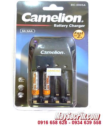 Camelion BC-0905A _Bộ sạc pin BC-0905A kèm 2 pin sạc Camelion NH-AAA1100BP2 (AAA1100mAh 1.2v)