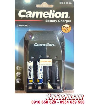Camelion BC-0905A _Bộ sạc pin BC-0905A kèm 2 pin sạc Camelion NH-AAA1100LBP2 (AAA1100mAh 1.2v)