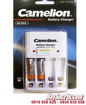 Camelion BC-1010B _Bộ sạc kèm 2 pin sạc Camelion NH-AAA1100BP2 (AAA1100mAh 1.2v)