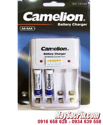 Camelion BC-1010B _Bộ sạc kèm 2 pin sạc Camelion NH-AAA1100LBP2 (AAA1100mAh 1.2v)