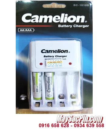 Camelion BC-1010B _Bộ sạc kèm 2 pin sạc Camelion NH-AAA900ARBP2 (AAA900mAh 1.2v)