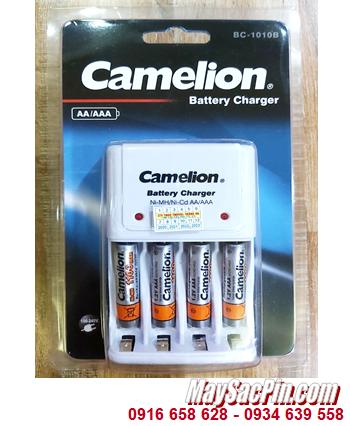 Camelion BC-1010B _Bộ sạc pin BC-1010B kèm 4 pin sạc Camelion NH-AAA1100BP2 (AAA1100mAh 1.2v)