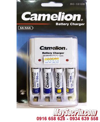 Camelion BC-1010B _Bộ sạc pin BC-1010B _kèm 4 pin sạc Camelion NH-AAA1100LBP2 (AAA1100mAh 1.2v)