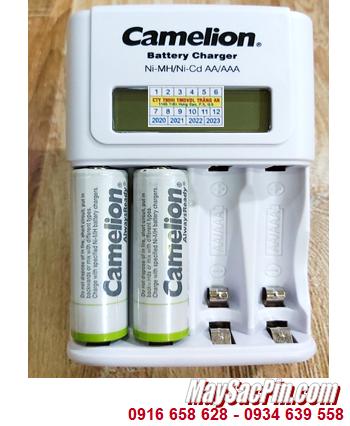 Camelion BC-1012 _Bộ sạc pin BC-1012 kèm 2 pin sạc Camelion NH-AA2500ARBP2 (AA2500mAh 1.2v