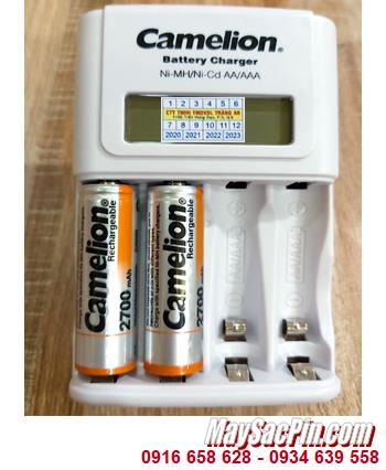Camelion BC-1012 _Bộ sạc pin BC-1012 kèm 2 pin sạc Camelion NH-AA2700BP2 (AA2700mAh 1.2v)