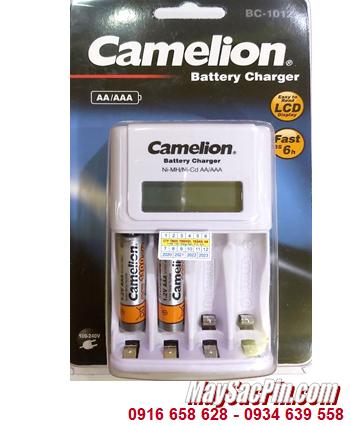 Camelion BC-1012 _Bộ sạc kèm 2 pin sạc Camelion NH-AAA1100BP2 (AAA1100mAh 1.2v)