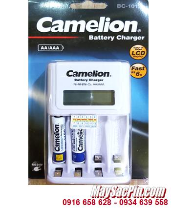Camelion BC-1012 _Bộ sạc kèm 2 pin sạc Camelion NH-AAA1100LBP2 (AAA1100mAh 1.2v)