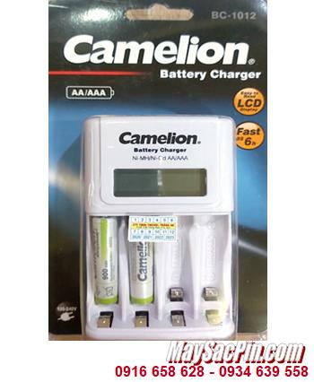 Camelion BC-1012 _Bộ sạc kèm 2 pin sạc Camelion NH-AAA900ARBP2 (AAA900mAh 1.2v)